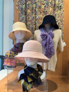 シルクの帽子